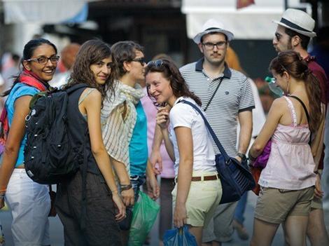 Sve više turista u prestonici