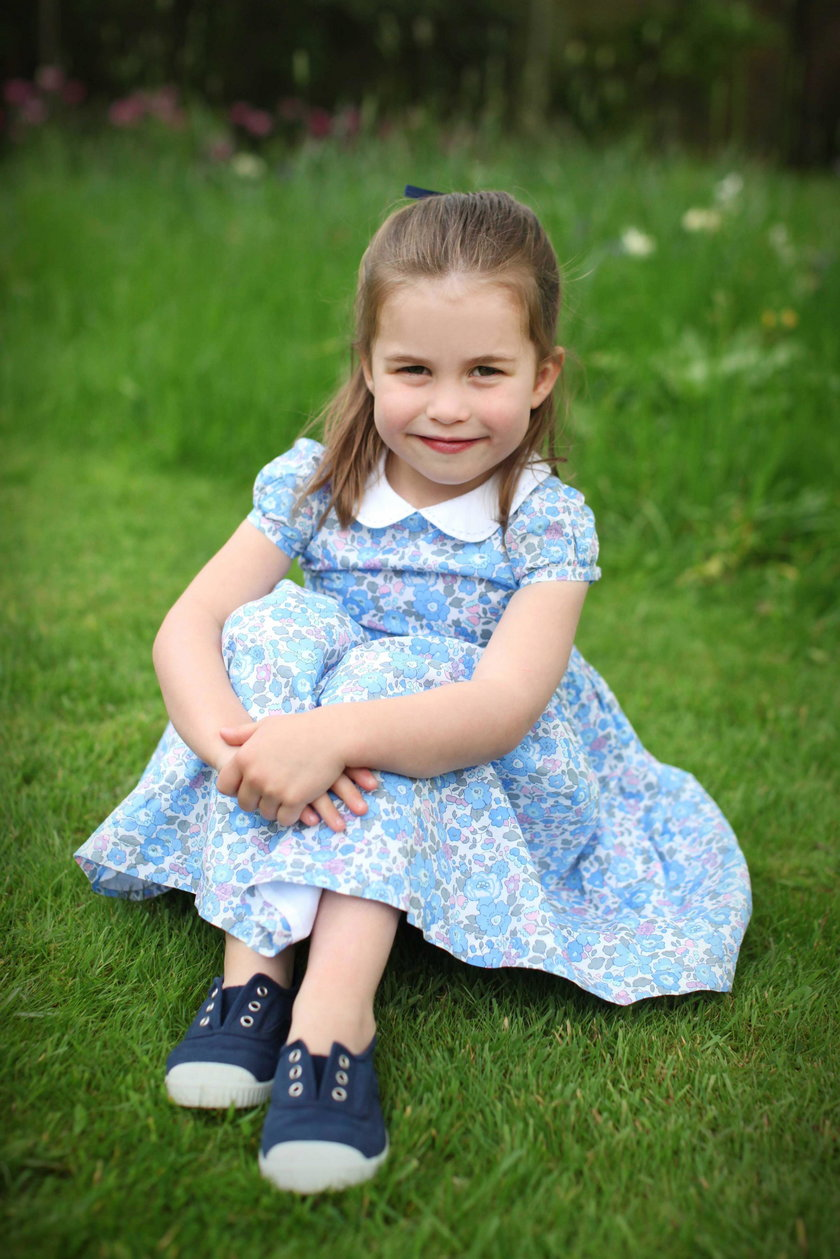 Princess Charlotte celebrates fourth birthday