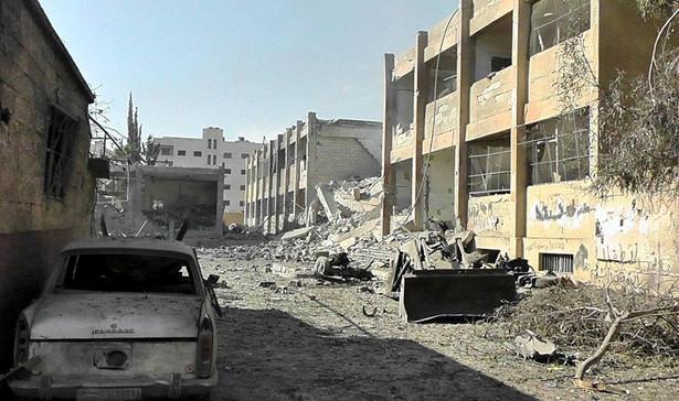 Miasto Hims w Syrii