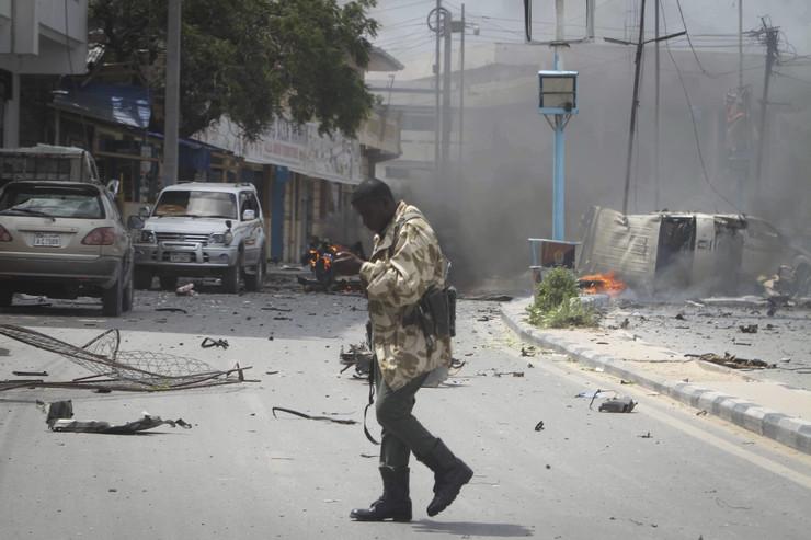 Somalija policija napad u Mogadišu 2018.