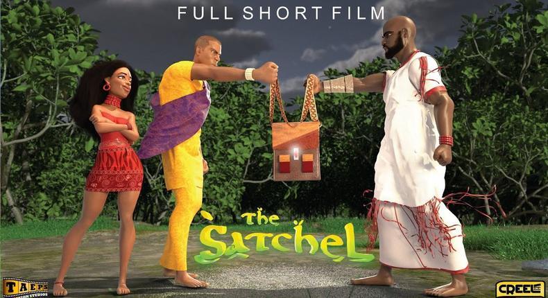 'The Satchel'  explores a story based on Yoruba mythology [YouTube]