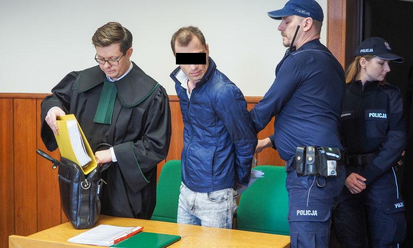 Stalker przed sądem w Łodzi