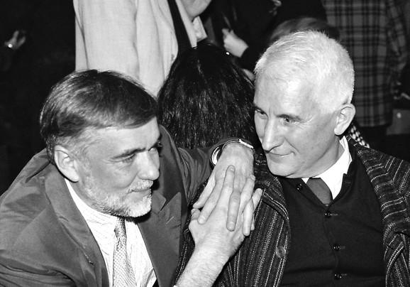 Duško Kovačević i Matija Bećković