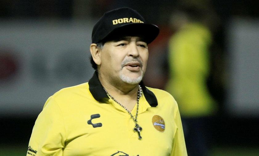 Diego Maradona w ostatnich latach wielokrotnie odwiedzał szpital