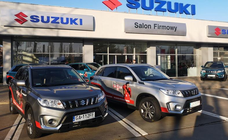 Suzuki Vitara - auta zawodników Suzuki Top Team