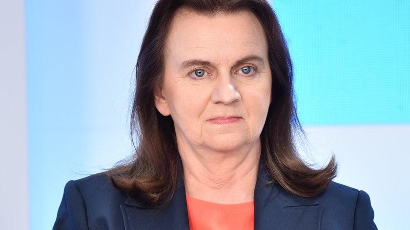 Prof. Gertruda Uścińska, prezes ZUS.