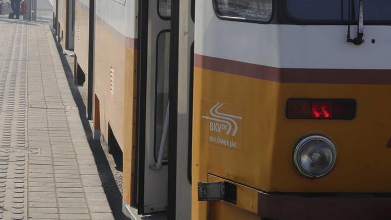 Kisiklott egy villamos Budapesten