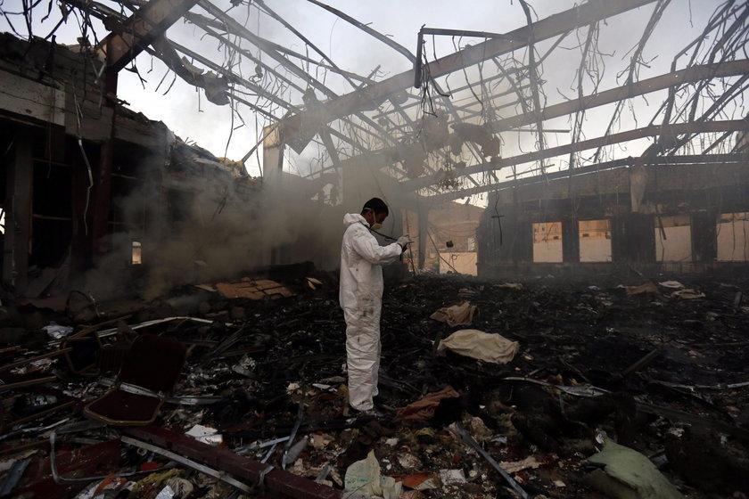 Tylko południowa część kraju wraz z Adenem podlega rządowi uznawanemu przez wspólnotę międzynarodową i popieranemu przez Arabię Saudyjską
