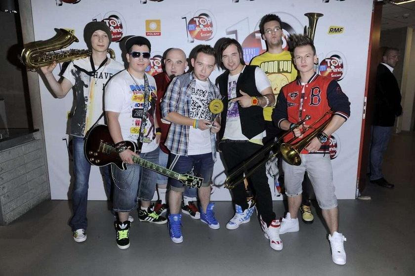 Grupa Enej na festiwalu Top Trendy