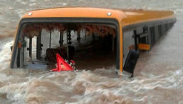 4 die, 2 missing as Kano bound bus plunges into River Niger.