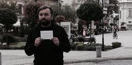Burmistrz Wadowic chwali się w sieci mandatem
