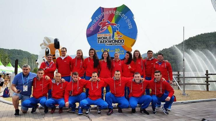 Tekvondo reprezentacija Srbije