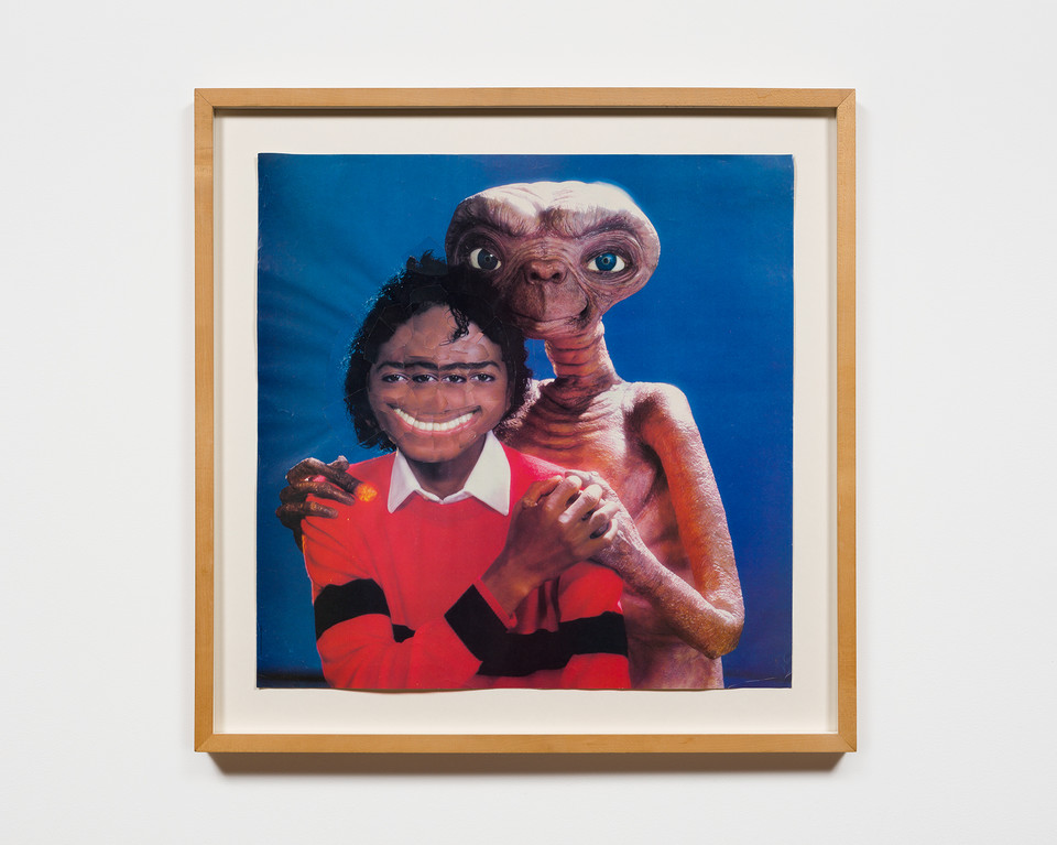 "Mark Flood, ""Michael and ET"" (1985)"