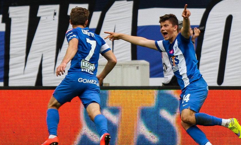 Lech Poznań - Pogoń Szczecin 1:0. Kolejorz wciąż liderem.