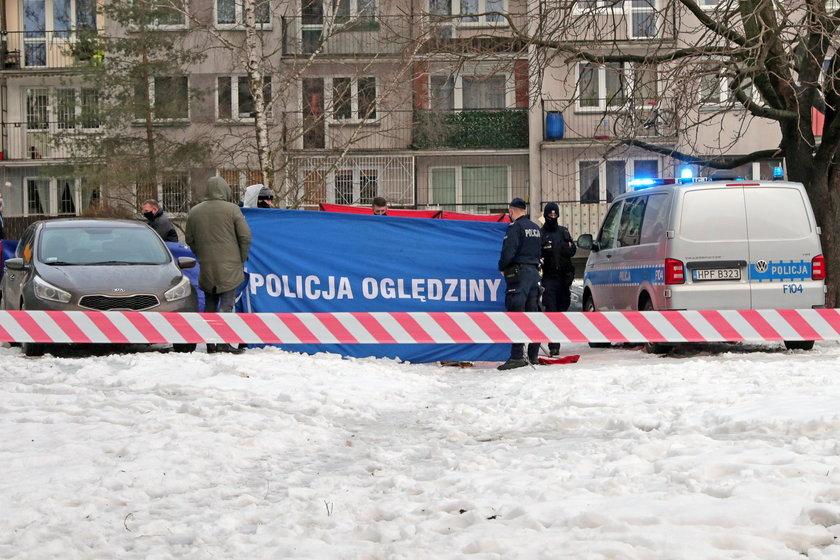 Cios nożem i śmierć. Areszt dla podejrzanego o zabójstwo w Łodzi