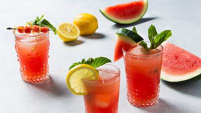 Voici comment faire de la limonade à la pastèque