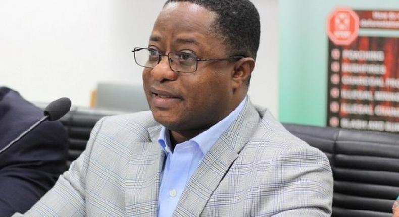 Ghana's Energy Minister, John Peter Amewu