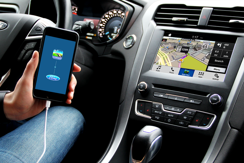 Ford AppLink i Sygic w iPhone