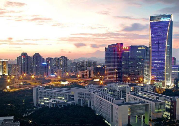 Tencent headquarters. (Compelo))