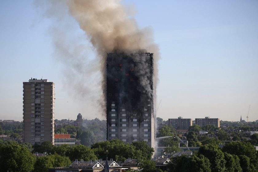Dramatyczna relacja Polki, która była świadkiem pożaru w Londynie