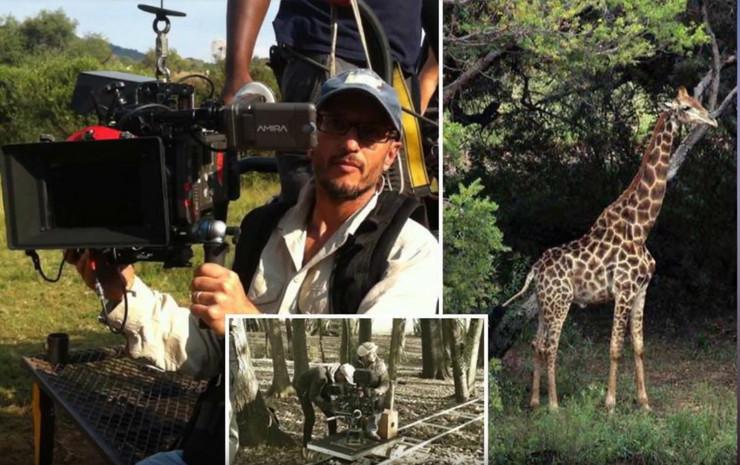 reditelja ubila zirafa na snimanju