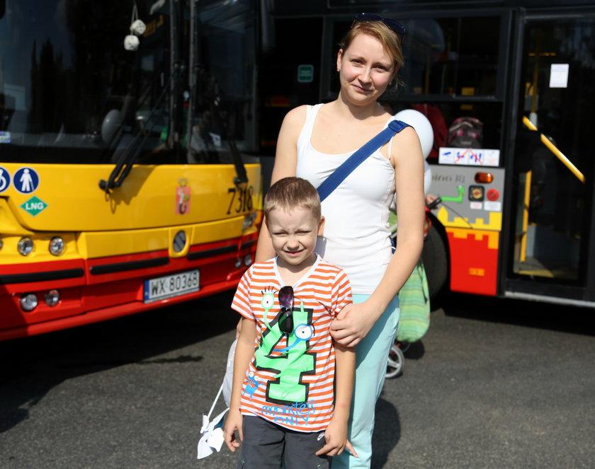 Katarzyna Gnaj (27 l.) z synem Nikodemem (6 l.)