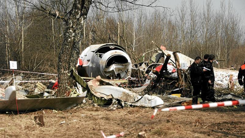 Wrak Tu-154M, fot. Filip Klimaszewski / Agencja Gazeta