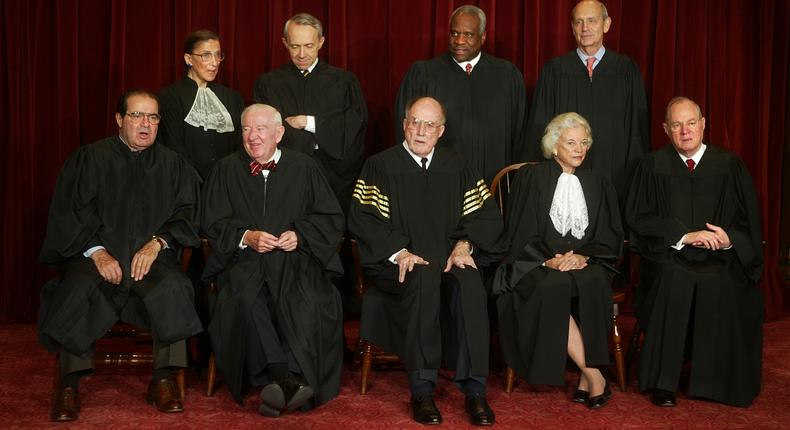 Supreme Court justice John Paul Stevens, who led liberal wing, dies at 99