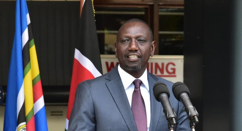 William Ruto explains why he has not been seen in public with Uhuru