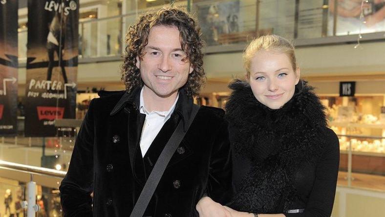 Piotr Rubik z żoną