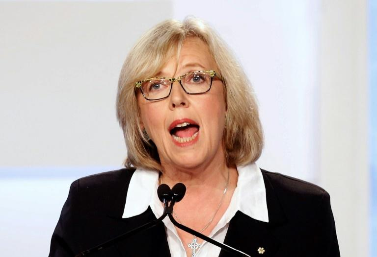 Canada's Green Party leader Elizabeth May is known for straight talk and ability to work across political aisles