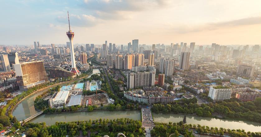 Chengdu ma bezpośrednie towarowe połączenie kolejowe z Łodzią