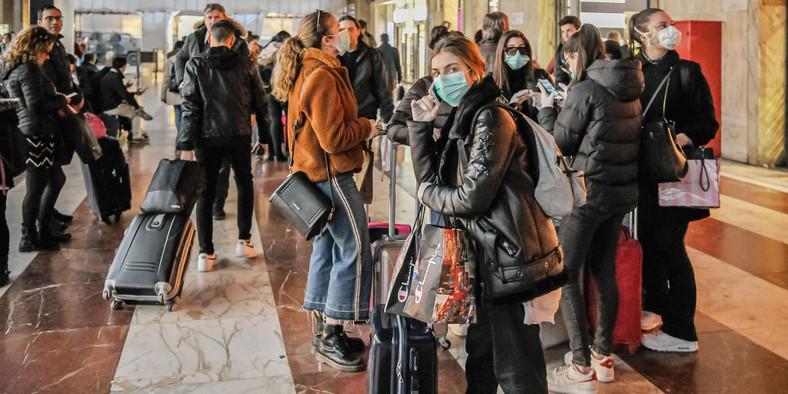 Italy coronavirus lock down Florence  Laura Lezza/Getty Images