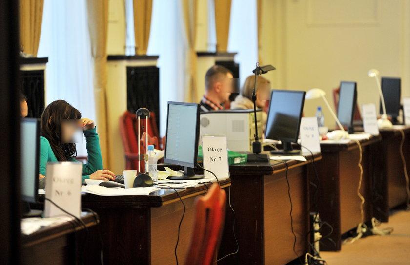 komisja wyborcza w Łodzi