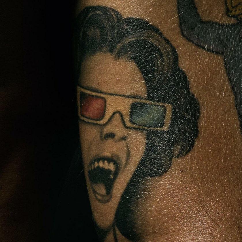 Tatuaże Marca Jacobsa