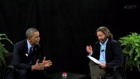 Barack Obama gościem programu Zacha Galifianakisa