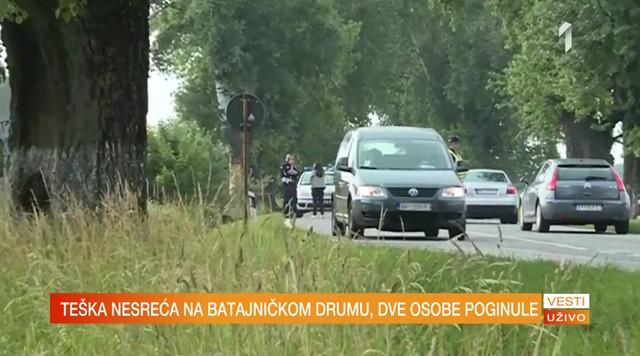 Saobraćajna nesreća u Batajnici