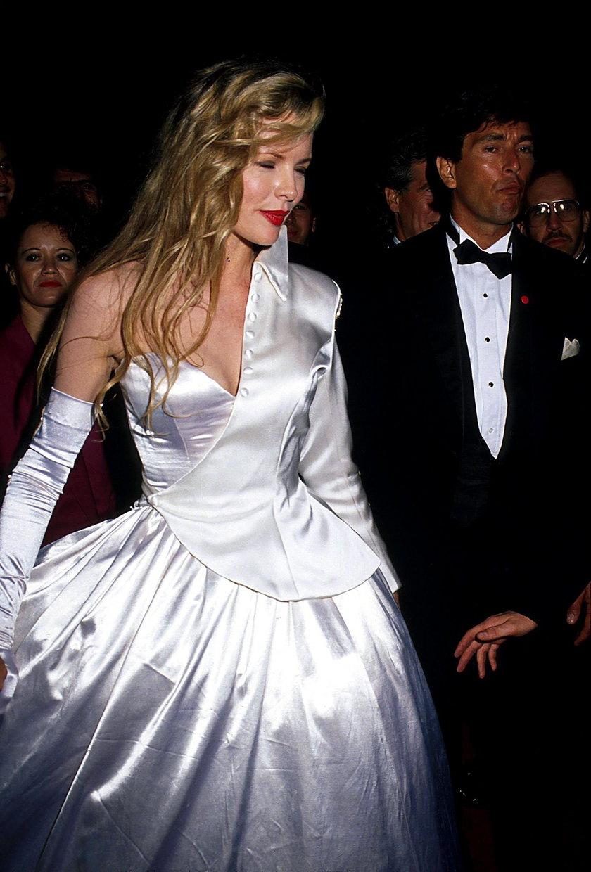 Kim Basinger podczas 62. ceremonii wręczenia Oscarów w 1990 roku
