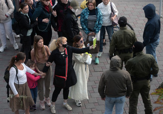 W sobotę na Białorusi zatrzymano 150 osób