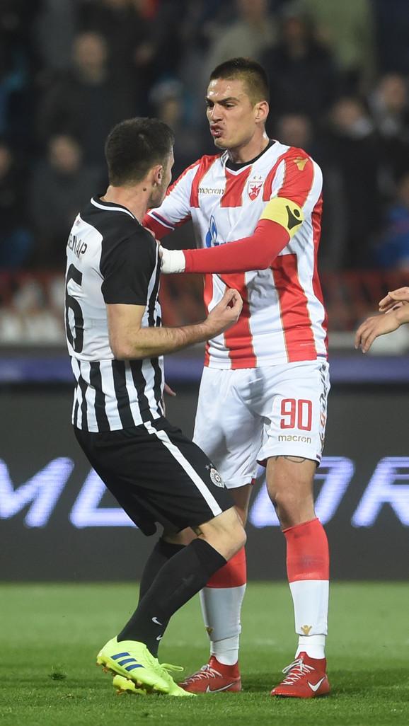 Saša Zdjelar i Vujadin Savić u klinču
