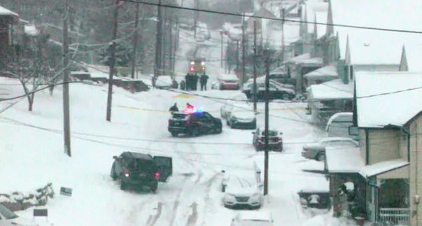 Zabił sąsiadów, bo wrzucali mu śnieg na posesję.
