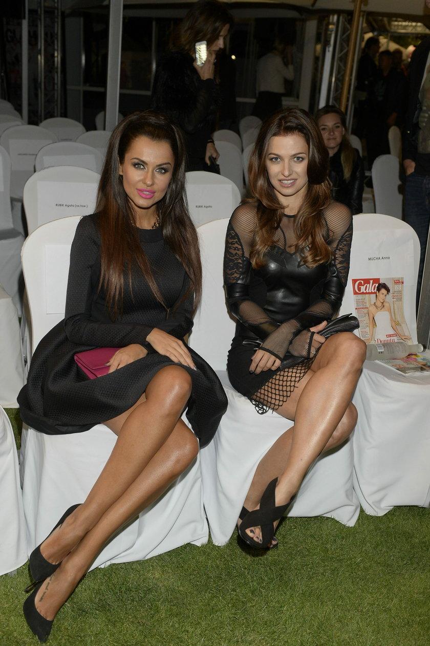Anna Lewandowska i Natalia Siwiec