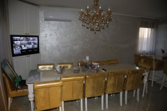 Dnevna soba u domu porodice Rodić