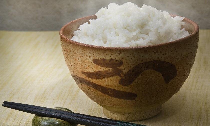 Miska z ryżem