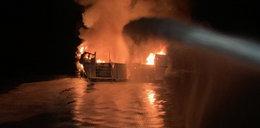 Pożar statku w pobliżu Los Angeles. Co najmniej 25 osób nie żyje