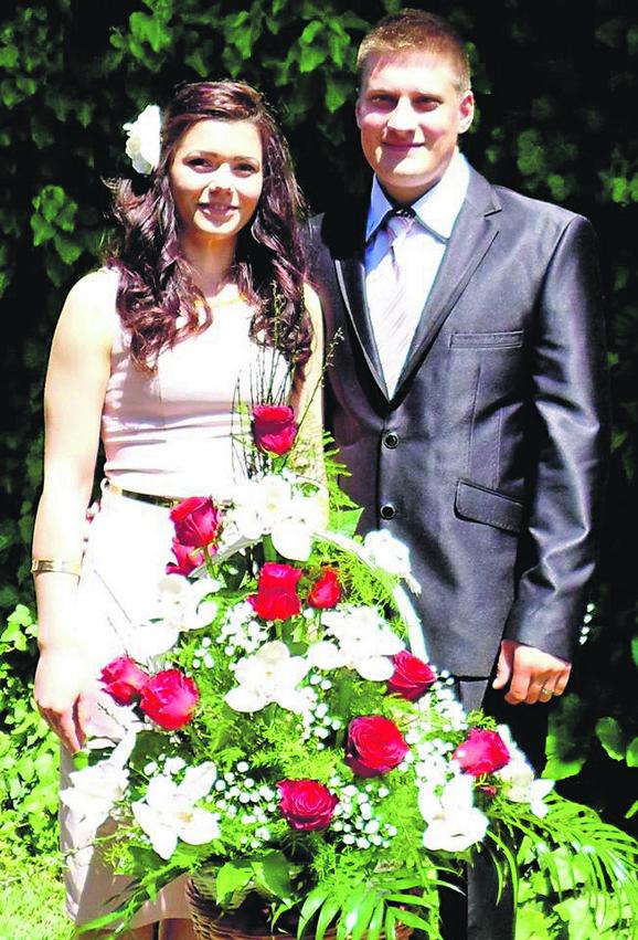 Nesrećna mlada: Natalija (25) nakon udaje za Vlastimira Šefer pala je kao prva žrtva pokolja.
