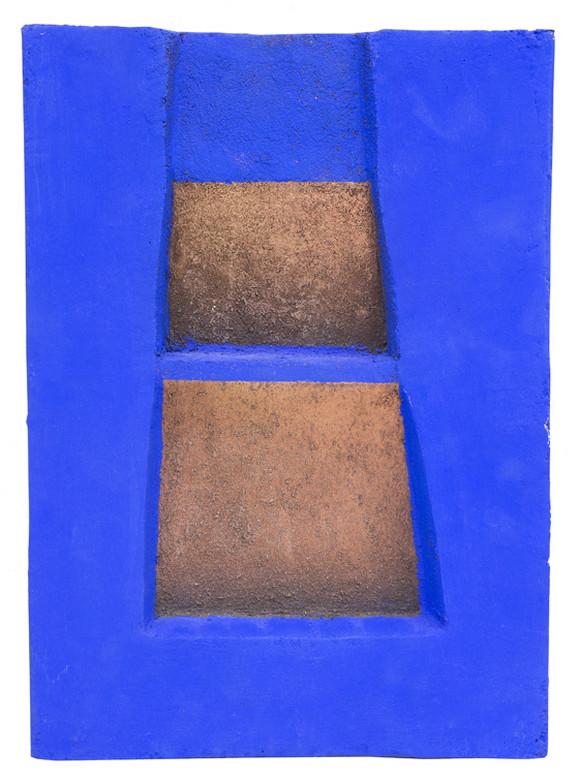 Bez naziva, drvo, boja, 39,5x28x4