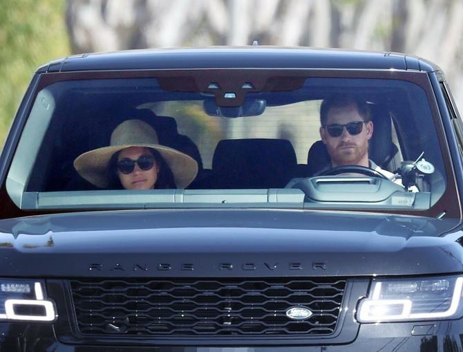 Megan Markl i princ Hari u Santa Barbari pre objave prvog tizera intervjua