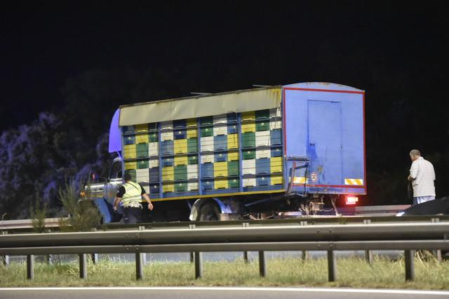 Kamion s kojim se sudario kombi