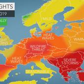 KAKVO NAS LETO ČEKA U Evropi će se smenjivati PAKLENE VRUĆINE I RAZORNE OLUJE, a ni Balkanu se ne piše dobro
